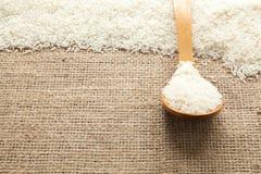 Reiskorn sieht von oben an lizenzfreie stockfotos