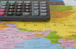 Reiskosten Stock Afbeelding