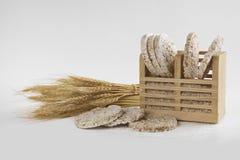 Reiskuchen Stockfoto