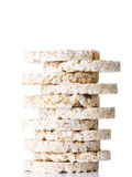 Reiskuchenstapel Lizenzfreie Stockfotos