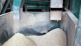 Reismühlen arbeiten stock footage