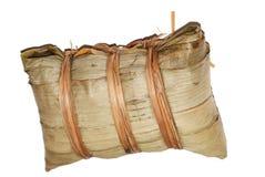 Reismehlkloß im Weiß Lizenzfreie Stockfotografie