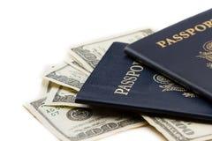 Reisplannen Royalty-vrije Stock Afbeelding