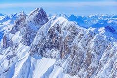 Reissend Nollen, vista dal Mt Titlis Immagine Stock