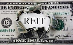REIT dollar concept Stock Image