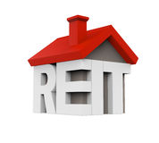 REIT House Icon Stock Photos