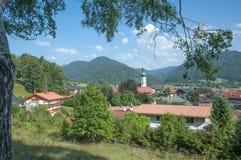 Reit im Winkl,Bavaria,Germany. The famous popular Village of Reit im Winkl in upper Bavaria,Chiemgau region,Germany Royalty Free Stock Image