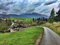 Reit im Winkl, Baviera Germania Immagini Stock Libere da Diritti