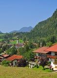 Reit im Winkl,Chiemgau,Bavaria,Germany. The idyllic well-knowm village of reit im winkl in the chiemgau,bavaria,germany Stock Photos