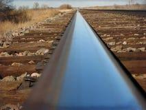 Reiten der Schienen stockfoto