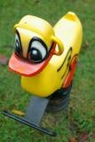 Reiten-ein-Ente Stockbilder