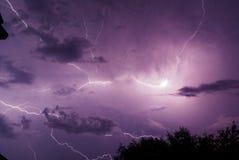 Reiten Sie den Blitz Stockfotos