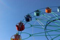 Reiten Sie Ferris Wheel Lizenzfreie Stockfotos