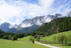 The Reiteralm in Berchtesgadener Land Stock Photos