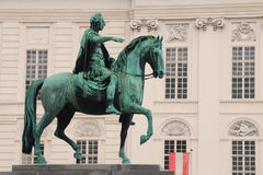 Reiterdenkmal Wien lizenzfreie stockbilder