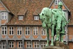 Reiterdenkmal in Wolfenbüttel Immagini Stock