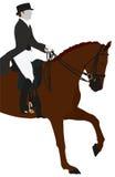 Reiterdressurreiten-Sport Lizenzfreie Stockbilder