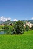 Reith, valle di Alpbach, Tirol, Austria Immagini Stock Libere da Diritti