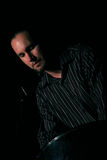 Reitor de Viktor (bandeja de aço) no festival de jazz de Úmbria Imagem de Stock