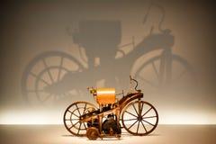 Reitwagen avec l'ombre Photo libre de droits