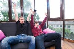 Reivindicação da vitória do vencimento no jogo imagens de stock