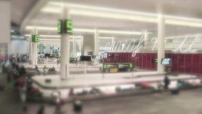 Reivindicação de bagagem do aeroporto em 4K filme