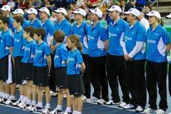 Reizen de Open Kampioenen van BNP Paribas Zürich 2012 Stock Afbeeldingen