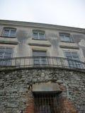 Reizen van historische plaatsen van Lviv-gebied stock afbeelding