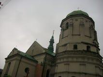 Reizen van historische plaatsen van Lviv-gebied stock foto