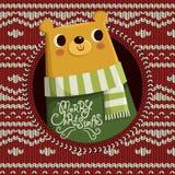 Reizend betreffen Sie Weihnachtshintergrund lizenzfreie abbildung