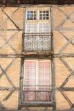 Reizend Franzosen Windows Stockfotos