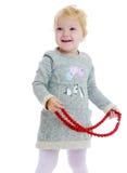 Reizend kleines Mädchen Lizenzfreie Stockbilder