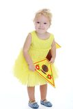 Reizend kleines Mädchen Lizenzfreies Stockfoto