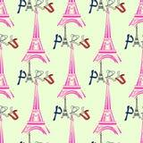 Reizend patroon kleurrijke naadloze grafische achtergrond Stock Illustratie