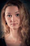 Reizend Porträt der jungen Frau Lizenzfreies Stockbild