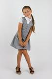 Reizend Schulmädchen Stockfoto