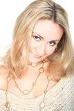 Reizende Blondine Lizenzfreies Stockbild