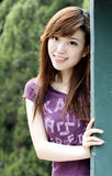 Reizende chinesische Mädchen Stockfoto