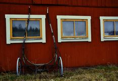 Reizende Details der schwedischen Landschaft stockfotografie