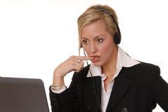 Reizende Geschäfts-Dame 119 Lizenzfreies Stockfoto