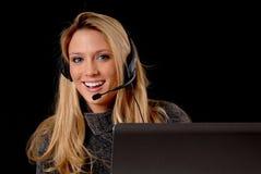 Reizende Geschäftsfrau Stockbilder