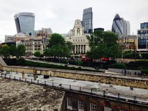 Reizende London-Ansicht Lizenzfreies Stockfoto