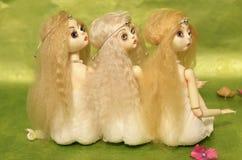 Reizende Puppe ohne Kleid Lizenzfreies Stockfoto
