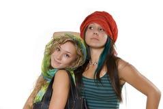 Reizende Schwestern Stockfotografie