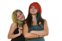 Reizende Schwestern Lizenzfreie Stockfotos