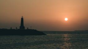 Reizende Sonnenuntergänge in Spanien lizenzfreies stockbild