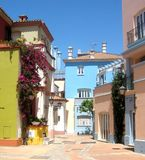 Reizende Straße bei Fuerte Ciudad Lizenzfreie Stockfotografie