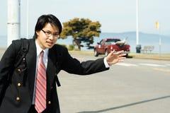 Reizende zakenman royalty-vrije stock foto