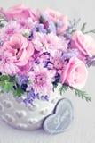 Reizender Blumenstrauß Stockfotografie