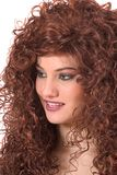 Reizender Redhead Lizenzfreie Stockbilder